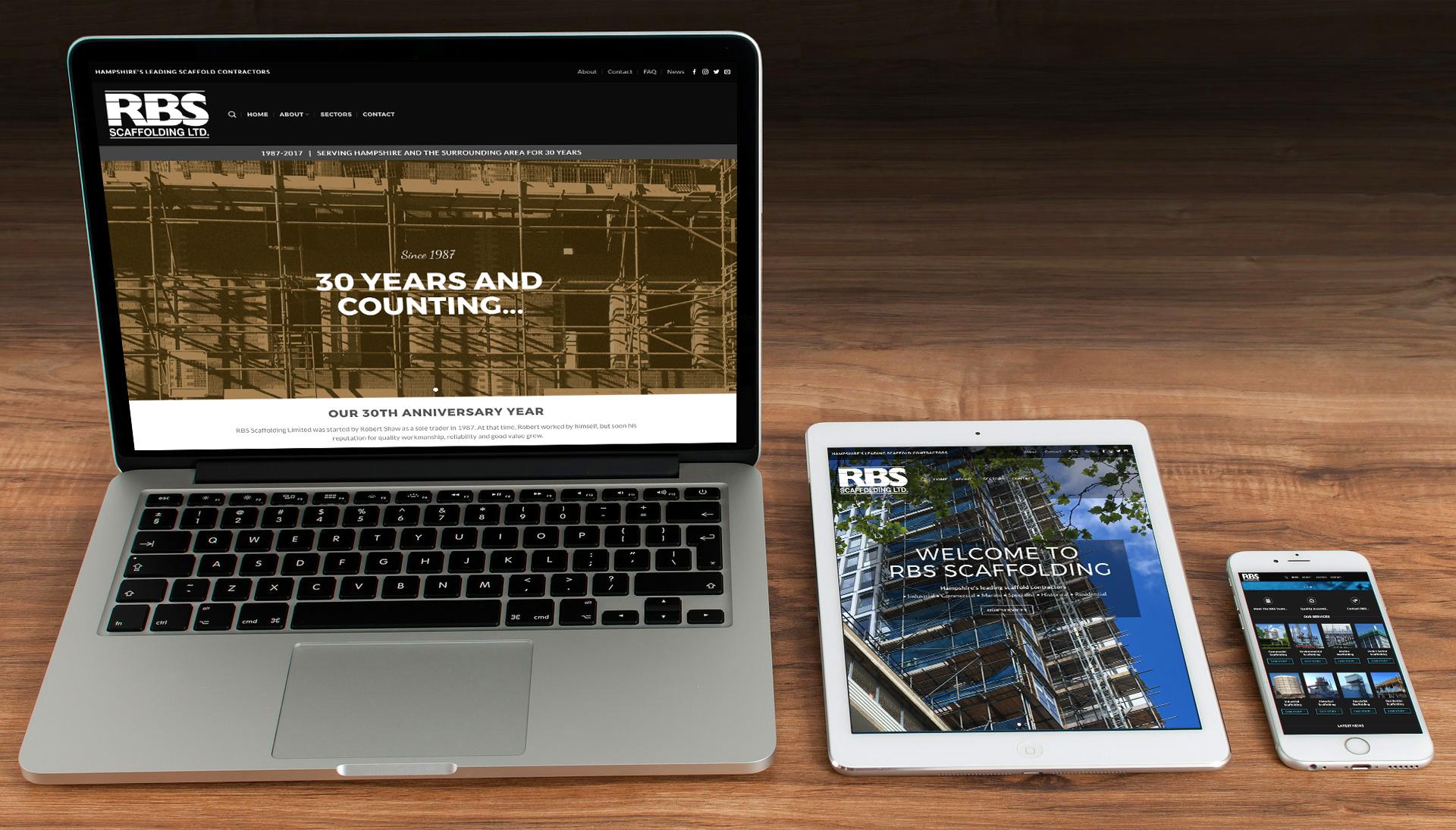 RBS New Website
