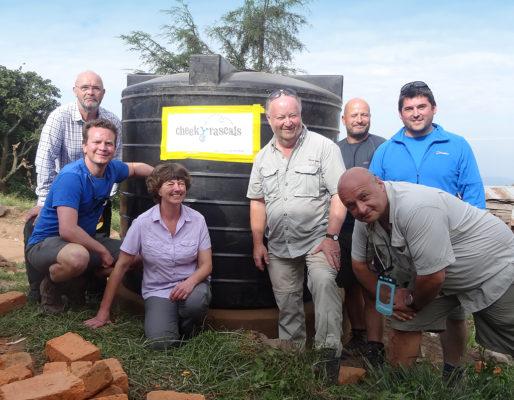 Rob Shaw in Uganda