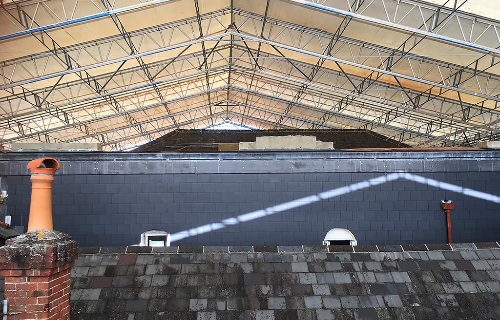 Haki Temporary Roof System Haki Roof Lift Youtube