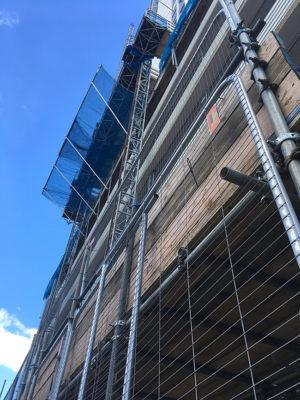 Student Accommodation scaffolding, Portsmouth
