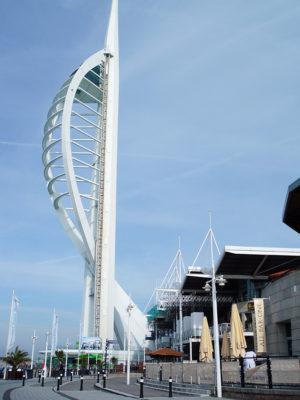 Gunwharf Quays Scaffolding Portsmouth