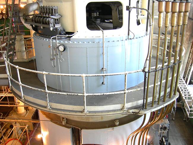 Industrial Boiler Scaffolding