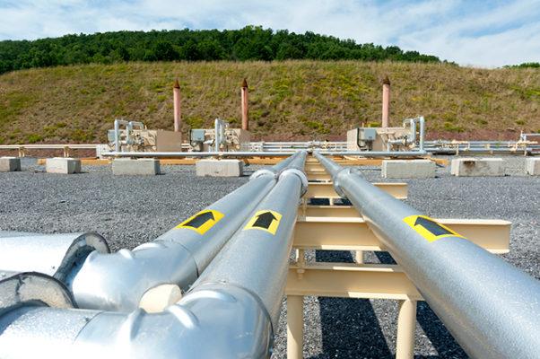 Gas Installation Scaffolding