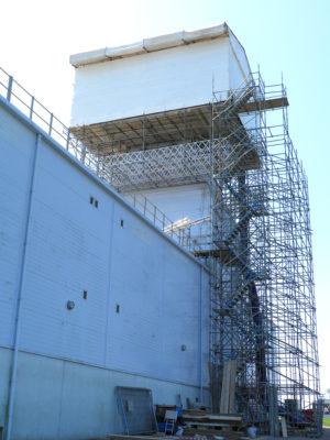 Portsdown Hill, Portsmouth Scaffolding