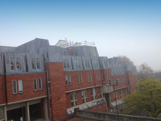 Three Ministers Temporary Roof Winshester
