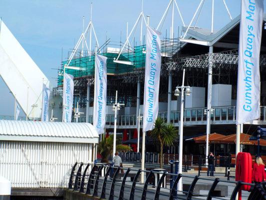 Gunwharf Quays Scaffold Portsmouth