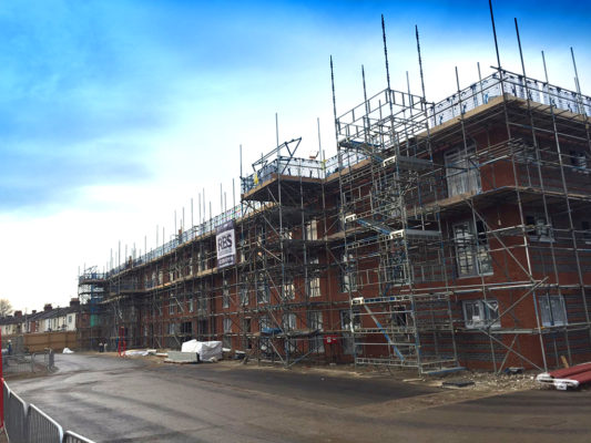 Residential-Inland-Homes Scaffolding