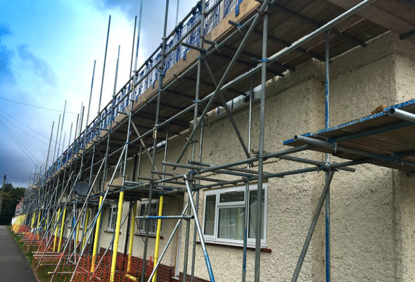 Residential Scaffolding Winchester