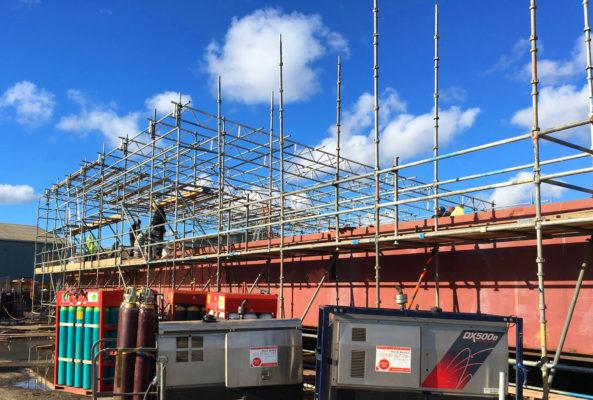 Shemara Marine Renovation Scaffolding